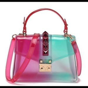 Transparent Shoulder Bags